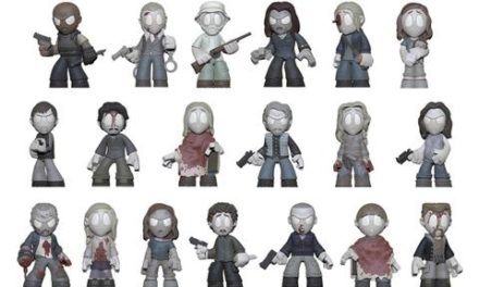 """Previews of the upcoming The Walking Dead """"In Memoriam"""" Mystery Minis!"""