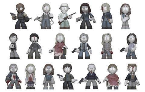 "Previews of the upcoming The Walking Dead ""In Memoriam"" Mystery Minis!"