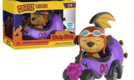 New Funko-Shop.com Exclusive Muttley with the Mean Machine Dorbz Ridez Now Available!