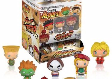 Previews of the new Street Fighter Pint Size Heroes by Funko!