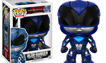 Previews of the new Mighty Morphin' Power Rangers Movie Pop! Vinyls and Pop! Pop! Keychains!