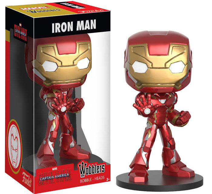 New Captain America and Iron Man Wacky Wobblers by Funko Coming Soon!