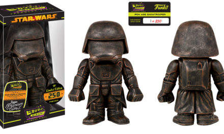 New Star Wars Iron Age First Order Snowtrooper Hikari Sofubi Vinyl by Funko Now Available!