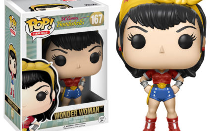 Previews of the new DC Bombshell Pop! Vinyls by Funko