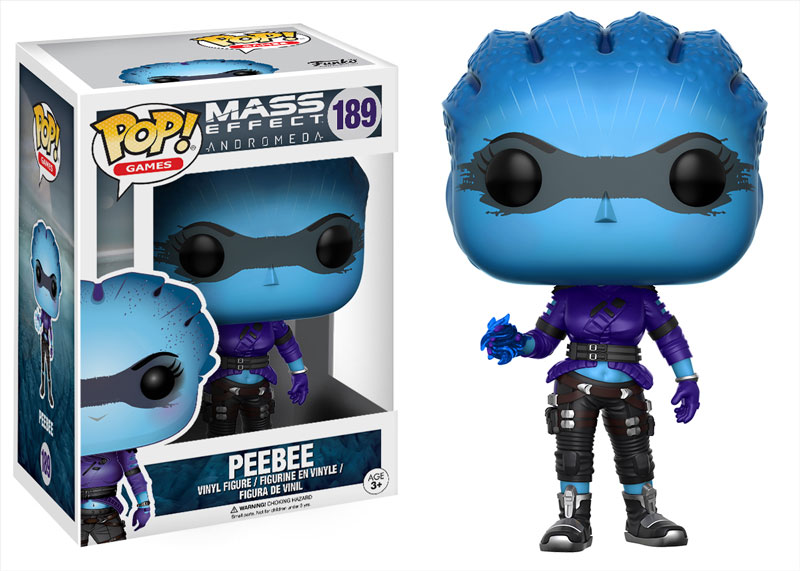 New Mass Effect: Andromeda Pop! Vinyls to be released in March!