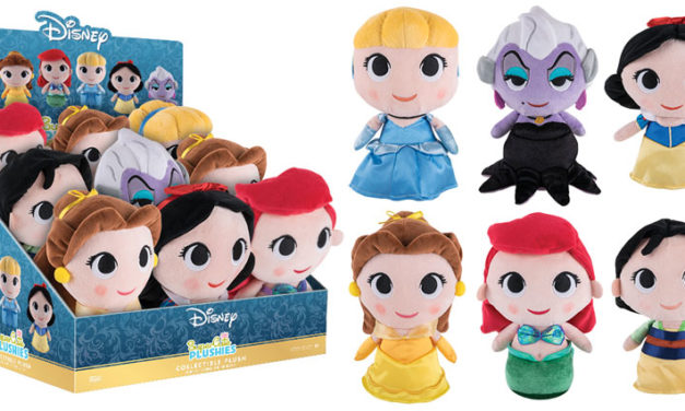 New Disney SuperCute Plushies by Funko Coming Soon!