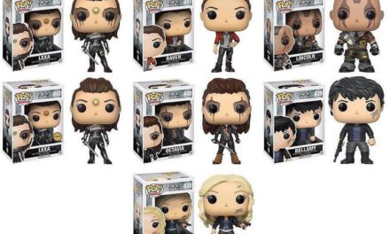 Official Previews of the new The 100 Pop! Vinyl Collection Released!