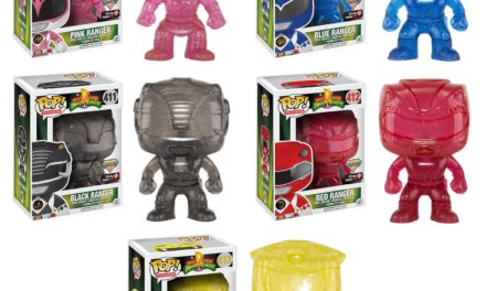 New GameStop Exclusive Morphing Power Rangers Pop! Vinyls Coming Soon!