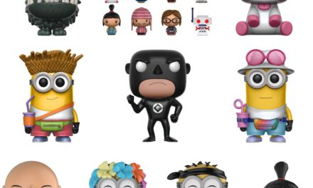 Previews of the new Despicable Me 3 Pop! Vinyls, Dorbz and Pint Size Heroes!