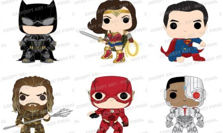 Previews of the upcoming Justice League Pop! Vinyls!