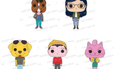 New Netflix's BoJack Horseman Pop! Vinyl Collection Coming Soon!