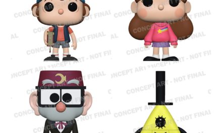 Previews of the upcoming Gravity Falls Pop! Vinyl Collection!