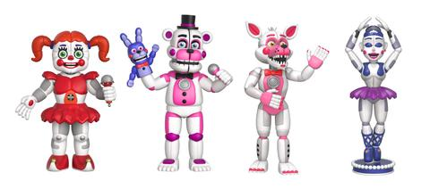 New Five Nights At Freddy S Collectibles By Funko Coming