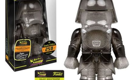 Preview of the new Star Wars Galaxy First Order Snowtrooper Hikari Sofubi Vinyl by Funko!