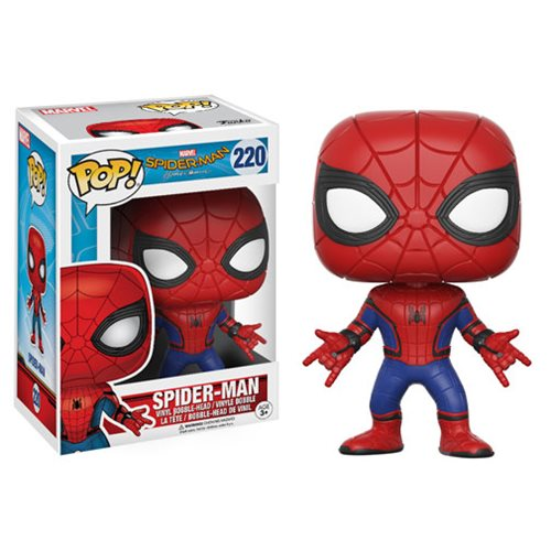 New Spider-Man Homecoming Pop! Vinyls, Dorbz, Plushies and Pocket Pop! Keychains Now Available Online!