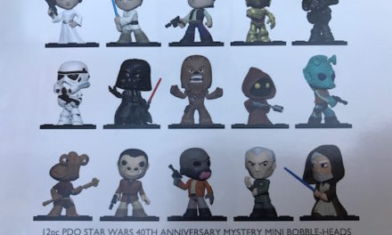 First look at the upcoming Star Wars Mystery Minis by Funko!