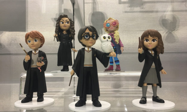 Previews of the upcoming Harry Potter Rock Candy figures!