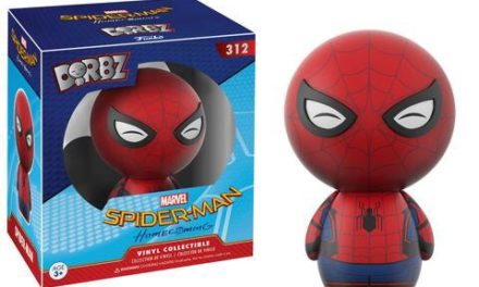 Previews of the new Spider-Man Homecoming Dorbz, Plushies, Pop! Vinyls and Pint Size Heroes