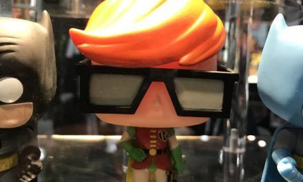 Detailed photo of the Previews Exclusive Carrie Kelly Robin Pop! Vinyl