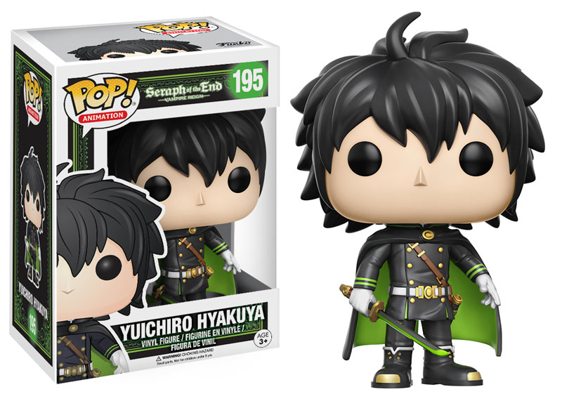 New Seraph of the End Pop! Vinyls to be released in March!