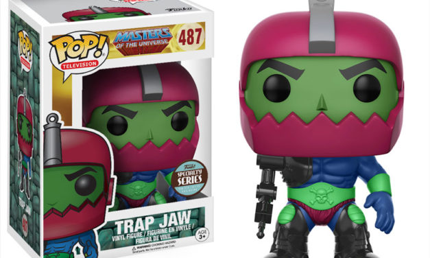 New Specialty Series Dispicable Me 3 Tourist Dave Dorbz and MOTU Trap Jaw Pop! Vinyl Coming Soon!