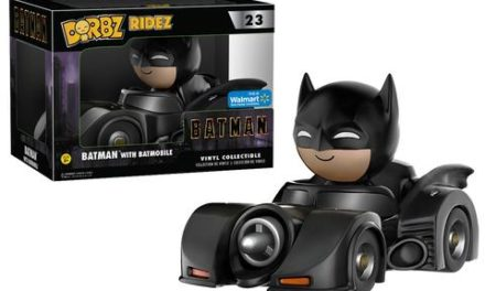 New Walmart Exclusive Black Flash Dorbz and Batmobile Dorbz Ridez Coming Soon!
