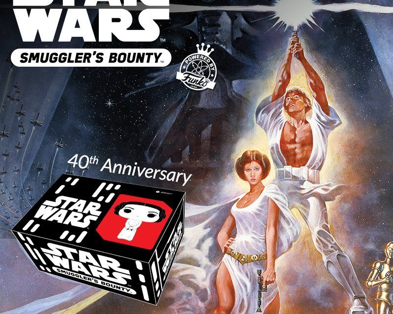 The Next Smuggler's Bounty Box Theme to be Star Wars: A New Hope 40th Anniversary!