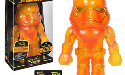 Preview of the new Star Wars Inferno First Order Stormtrooper Hikari Vinyl Figure by Funko!