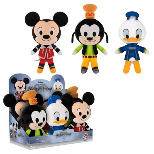 Previews of the new Kingdom Hearts Plushies by Funko!
