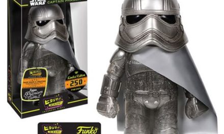 Preview of the new Star Wars Cold Steel Captain Phasma Hikari Vinyl Figure by Funko!