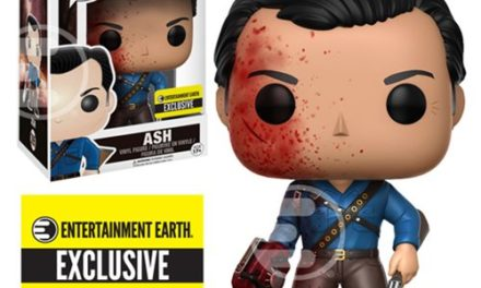 Preview and Pre-order Info for the new EE Exclusive Ash vs Evil Dead Ash Bloody Pop! Vinyl