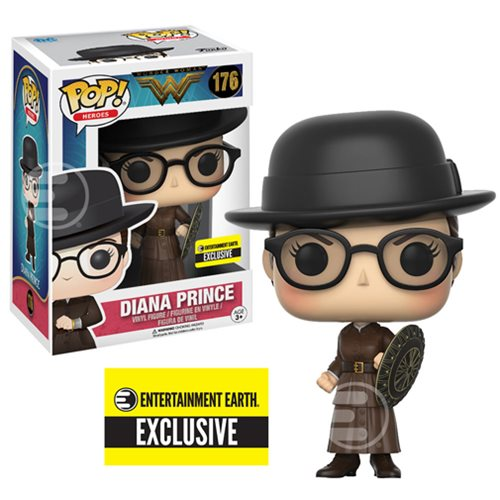Preview of the new Entertainment Exclusive Wonder Woman Diana Prince Pop! Vinyl
