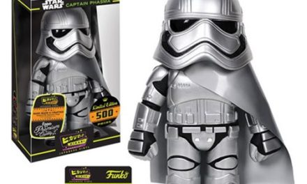 Preview of the new Star Wars Classic Captain Phasma Hikari Vinyl by Funko!