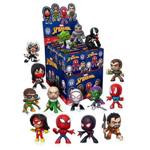 Previews of the upcoming Spider-Man Classic Mystery Minis!
