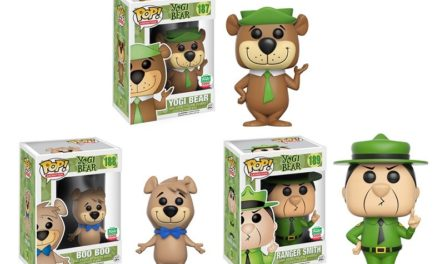 New Funko Shop Exclusive Yogi Bear, Ranger Smith and Boo Boo Pop! Vinyls Now Available!
