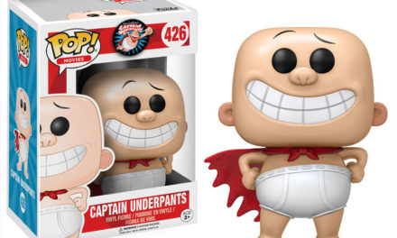 Previews of the new Captain Underpants Pop! Vinyls Released!