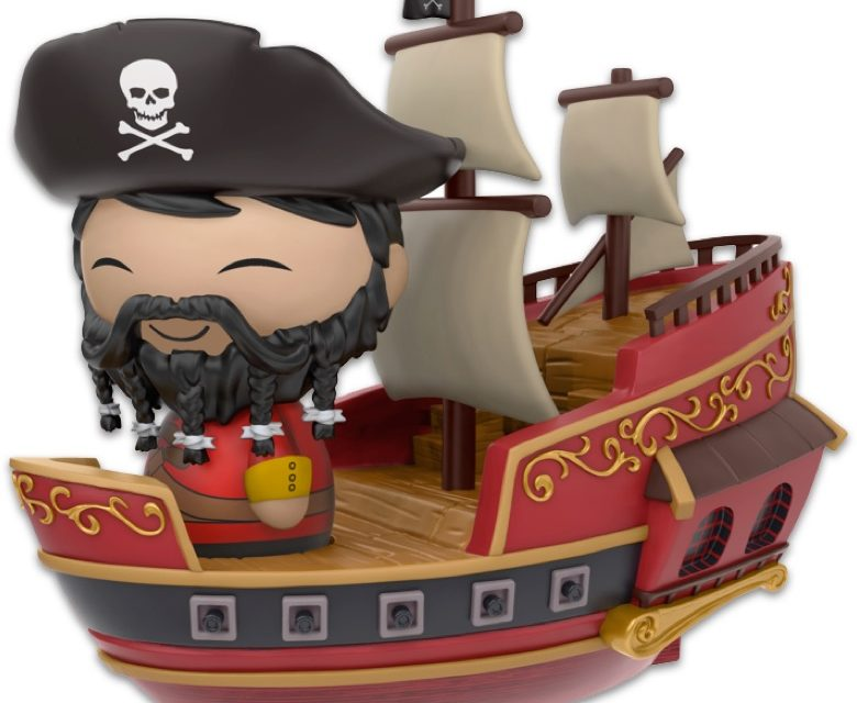 New Disney Treasures Subscription Box by Funko to include a Wicked Wench Dorbz Ride!