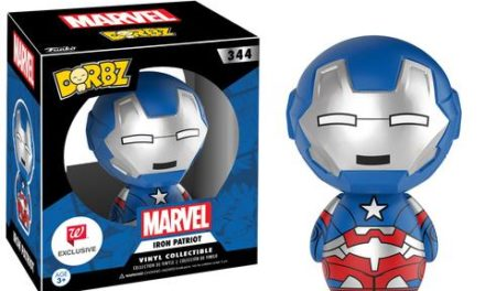Previews of the upcoming Walgreens Exclusive Iron Patriot & Compound Hulk Dorbz!