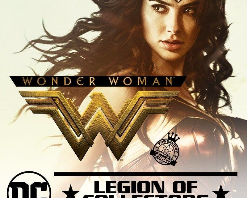 Sneak Peek at the Pop! Vinyl in the upcoming Wonder Woman Legion of Collectors Box