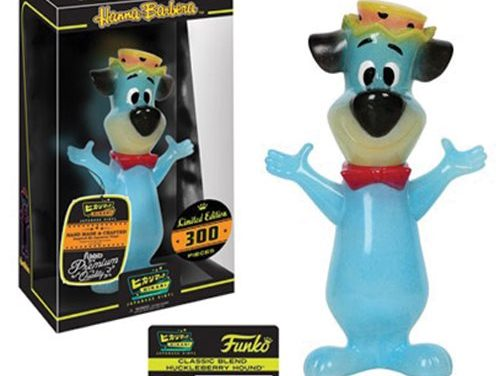 Preview of the new Huckleberry Hound Classic Blend Hikari Vinyl Figure by Funko!