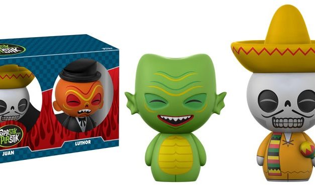 New Funko Shop Exclusive Spastik Plastik Jill, Juan and Luther Dorbz 3-pack