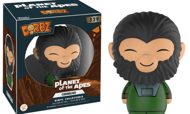 Previews of the upcoming Planet of the Apes Dorbz by Funko