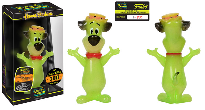 Preview of the new Huckleberry Hound Sweet Tea Hikari Vinyl Figure by Funko!