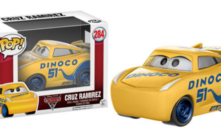 Previews of the upcoming Cars 3 Pop! Vinyl Collection!