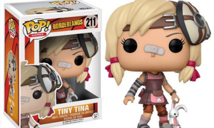 Previews of the upcoming Borderlands Pop! Vinyls!