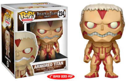 Previews of the new Attack on Titan Pop! Vinyl and Pocket Pop! Keychains!