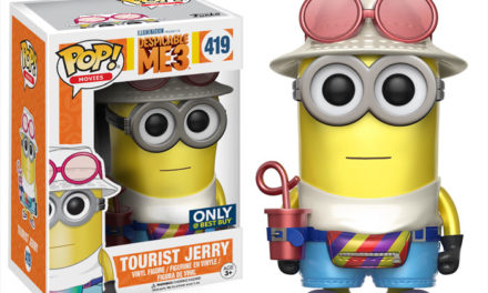 Official Previews of the upcoming Despicable Me 3 Exclusives from Funko!
