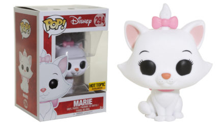 Previews of the upcoming Hot Topic Exclusive Flocked Marie Pop! Vinyl