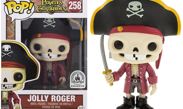New Disney Parks Exclusive Pirates of the Caribbean Jolly Roger Pop! Vinyl Released!