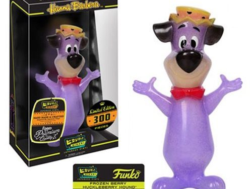 Preview of the new Huckleberry Hound Dark Blue Hikari Vinyl Figure by Funko!